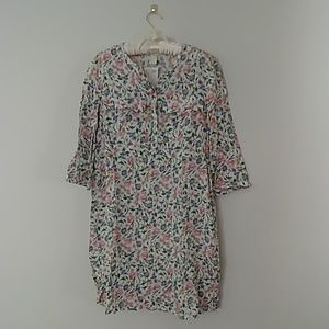 NWT floral shirtdress by H&M